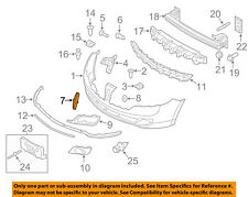 Lincoln FORD OEM 10-12 MKZ Front Bumper-Ornament AH6Z8213A