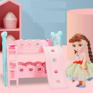 Bunk Bed Girls Pretend Play Princess Doll with ONE 10 Inch Dolls Complete Set