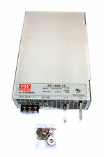 1pc DC Switching Power Supply SE-1500-12 12V 125A 1500W AC180~264V Mean Well MW