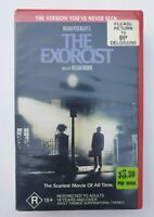 HORROR MOVIE VHS VIDEO: THE EXORCIST THE VERSION YOU'VE NEVER SEEN EX RENTAL
