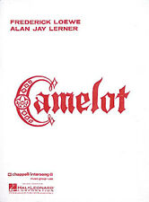 Camelot Lerner & Loewe Musical Vocal Score Piano Sheet Music 15 Songs Book