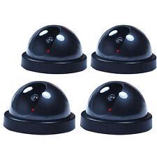 1 Fake Dummy Dome Surveillance Security Camera With LED Sensor Light