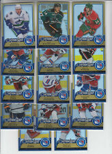 08/09 OPC Metal Gold New York Rangers Jaromir Jagr card #119