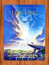 TIN SIGN Disney's The Lion King Vintage Movie Art Poster