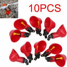 10 pezzi / Kit abbeveratoio acqua distributore allevamento pollame polli galline