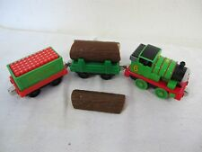 THOMAS THE TANK TAKE ALONG DIECAST PERCY ENGINE BLASTING CAR LOGGER 6 PCS