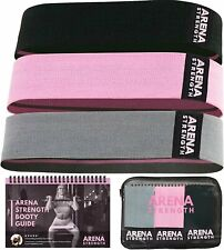 Arena Strength Fabric Booty Bands - Fabric Exercise Bands for Legs and Butt |...