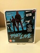 John Carpenter's They Live Limited Edition 4K Ultra HD Blu ray Set New & Sealed