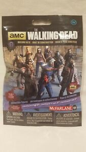 2015 MCFARLANE AMC THE WALKING DEAD BUILDING SETS ( WALKERS ) SERIES 3 RARE NEW