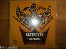 "BEETHOVEN - PIANO CONCERTO NO 5 ""EMPEROR"" - LP / RECORD - CONCERT HALL - AM 2307"