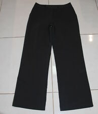 Womens size 10 black stretch dress pants made by TARGET