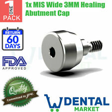 1x MIS Wide 3MM Healing Abutment Cap
