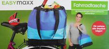 Easymaxx Fahrradtasche als Gepäckträger & Einkaufstasche verwendbar Neu