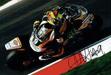 Chris WALKER The Stalker Autograph Signed Kawasaki Photo Brands Hatch AFTAL COA