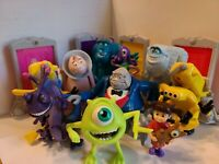 McDonald's Monster's Inc. Figures Large Lot Incl. Boo, Mike, Sully
