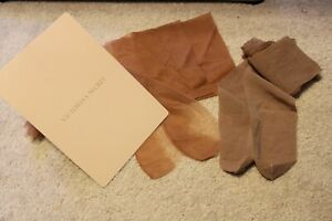 Victoria's Secret Classic Stockings & Budget Seamless thigh high Nylons Lot