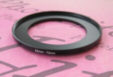 52mm to 72mm Stepping Step Up Filter Ring Adapter 52mm-72mm