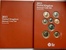 2015 UNCIRCULATED Annual Set Magna Carta Belfast £2 Churchill Waterloo £5