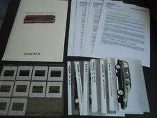 VOLVO gamme brochure dossier de presse media press kit - modèles 1995
