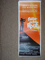 FIDDLER ON THE ROOF (1979) 14x36 original poster insert