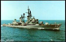 USS Dahlgren DDG-43 postcard US Navy warship Guided Missile Destroyer (cd1)
