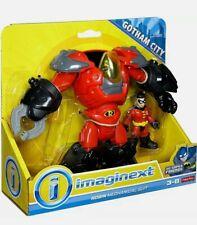 IMAGINEXT DC Super Friends Robin Mechanical Suit GOTHAM CITY COLLECTION New