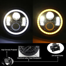 """7"""" Inch Round LED Headlight Fit Harley Trike Glide Ultra Classic FLHT 2009-2013"""