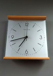 Hochwertige Moderne Zeitlose Wanduhr Hermle Holz Glas Uhrwerk U.T.S. DCF