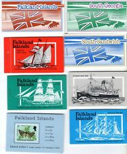 11 FALKLAND IS. BOOKLETS MINT NEVER HINGED