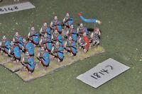 25mm roman era / roman - late infantry 18 figs - inf (18147)