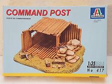 Italeri 417 Command Post 1:35 Neu, nicht versiegelt, Verpackung hat Lagerspuren