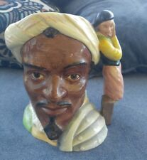 ROYAL DOULTON CHARACTER LARGE  TOBY JUGS OTHELLO D 6673 Made in England
