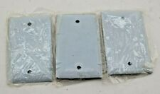 Hubbell SS13 Stainless Steel Wall Plate(Lot of 3)