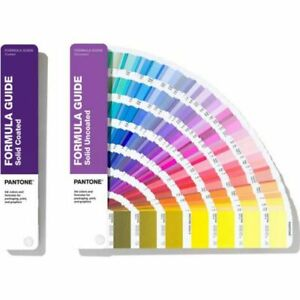 Pantone GP1601A Coated and Uncoated Formula Guide - Multicolored New Open Box