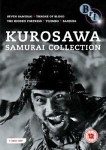 Akira Kurosawa - The Samurai Collection [DVD] [1954][Region 2]