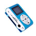 Reproductor Mini MP3 LCD con Enganche Clip, Music Player, Azul a426 nt