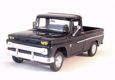 1966 CHEVROLET C10 PICK-UP TRUCK,BLACK WELLY 1/32 DIECAST CAR COLLECTOR'S MODEL