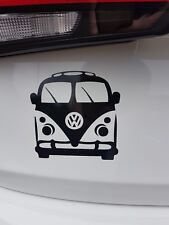 Camper Van Vinyl Wall Car Sticker Decal in 8 Colours