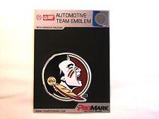 Florida State Seminoles Die Cut Color Auto Emblem  IN STOCK!!