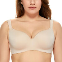 Women's Smooth Full Coverage Underwire Contour Balconette T-Shirt Bra