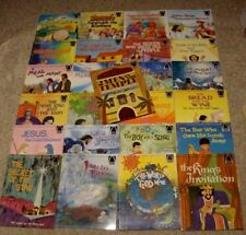 Lot - 25 Arch Children's Bible Story Books Religious Set Vintage