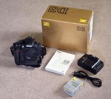 Nikon D3 Digital Single Lens Reflex Camera (16385 Activations)