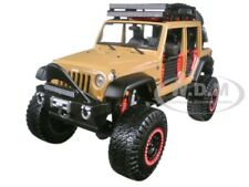 2015 JEEP WRANGLER UNLIMITED BROWN OFF ROAD KINGS 1/24 DIECAST BY MAISTO 32523