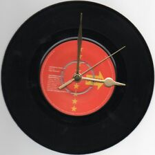 """THE HUMAN LEAGUE - BEING BOILED 7"""" VINYL RECORD WALL CLOCK"""