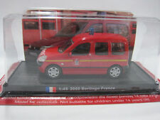 1/45 Scale 2005 France Citroen Berlingo Fire Vehicles Diecast Model By Amercom
