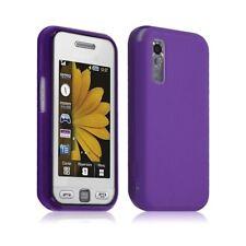 Housse étui coque gel Samsung Player One S5230 couleur violet