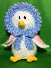 KNITTING PATTERN - Jemima Puddleduck inspired chocolate orange cover or 15ms toy