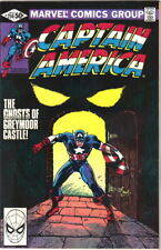 Captain America Comic Book #256 Marvel Comics 1981 Very Fine