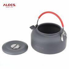 0.8L Lightweight Cookware Kettle Tea Coffee Pot for Camping Fishing Backpacking