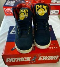 Patrick Ewing 33 Hi  Basketball Shoes Blue / yellow / Red  Men's Size 9